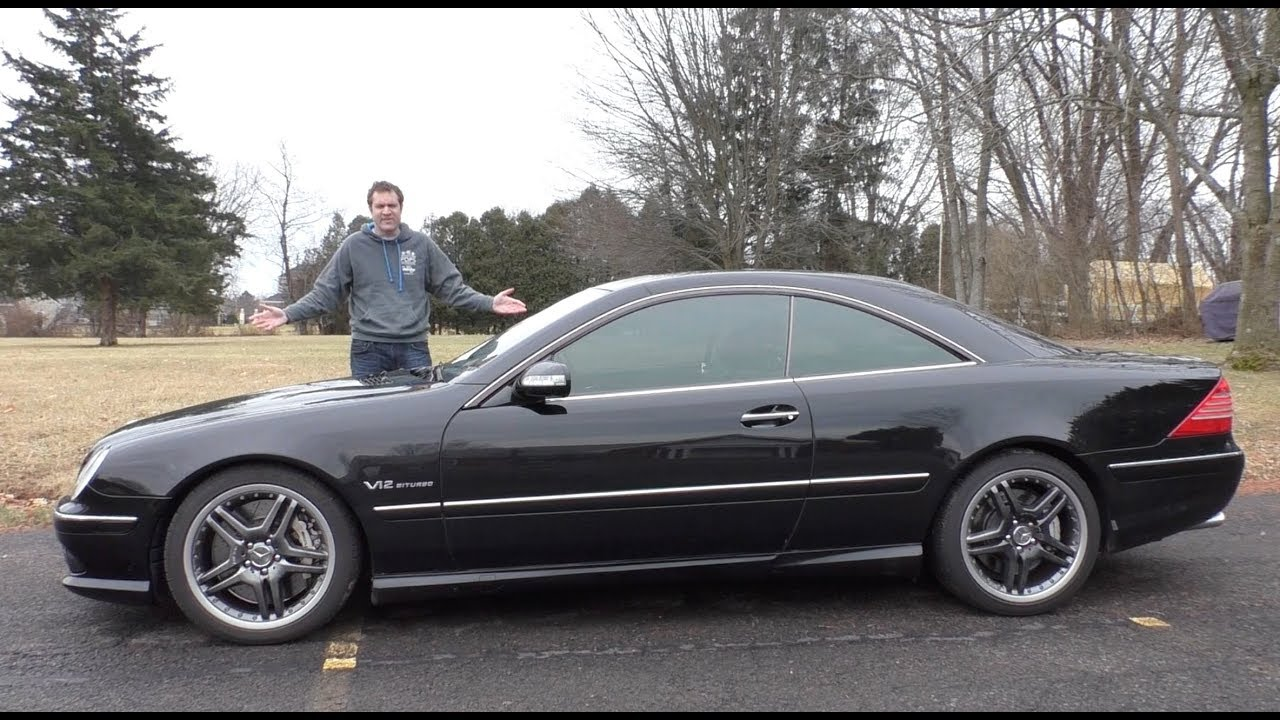 this v12 mercedes cl65 amg is an insane 30 000 used car. Black Bedroom Furniture Sets. Home Design Ideas