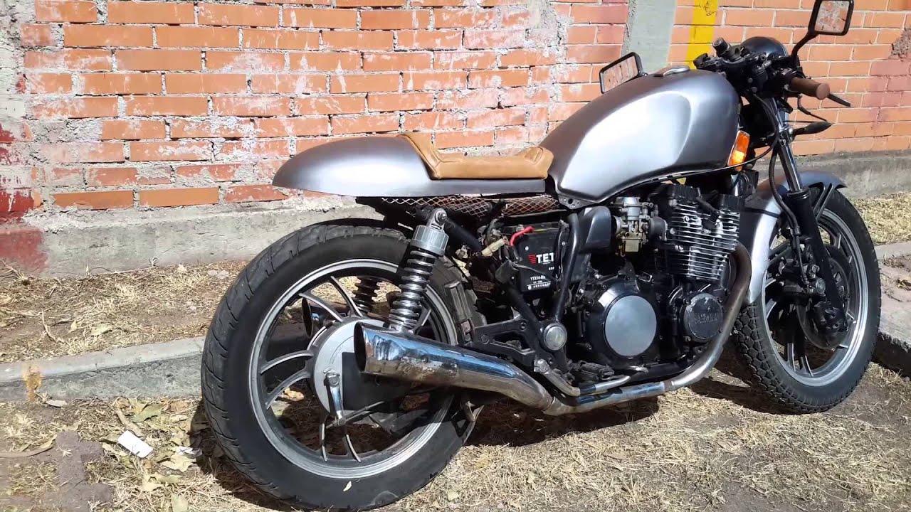cafe racer yamaha seca 750cc 1983 - youtube