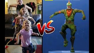 Fortnite Dance Challenge In Real Life | Costumes