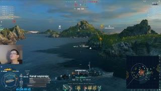 World of Warships stream - Atak na rangę 2 po raz 2