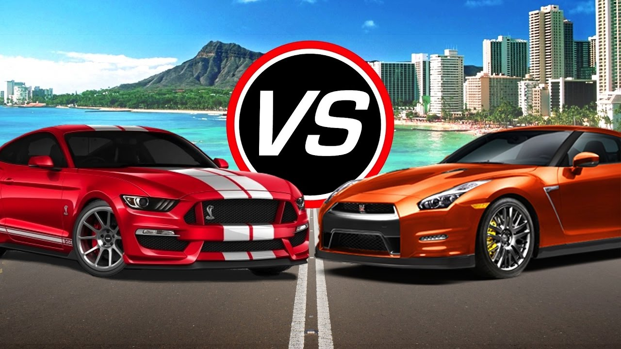 2016 ford mustang shelby gt350 vs nissan gt r spec comparison