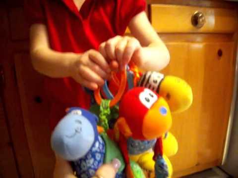 Infantino Pull Vibrating Rattles
