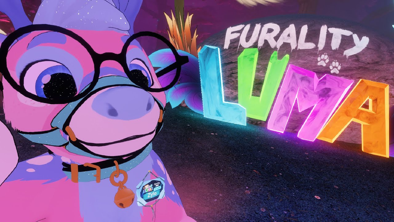 A Furry Convention in VIRTUAL REALITY 🦊👾 || Furality Luma Vlog (Part 1)