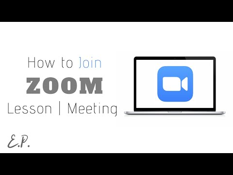 How to Join Zoom Video Conference (Windows, Mac)