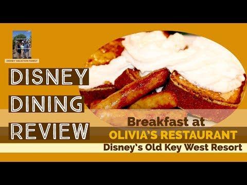 Breakfast at Olivia's Cafe   Disney Dining Review   Old Key West Resort   Eating at Disney