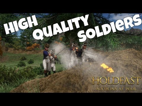 HIGH QUALITY SOLDIERS - Holdfast: Nations at War