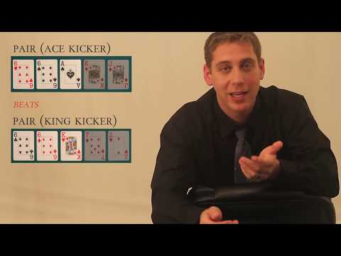 Ranking All Poker Hands - Introduction To Poker Rules And Procedures (Part 1 Of 2)