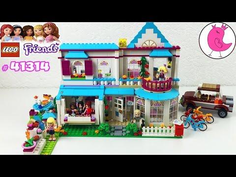 LEGO FRIENDS STEPHANIE'S HOUSE 41314 ЛЕГО ФРЕНДС НАБОР ДОМ СТЕФАНИ НОВИНКА 2017 РАСПАКОВКА ОБЗОР