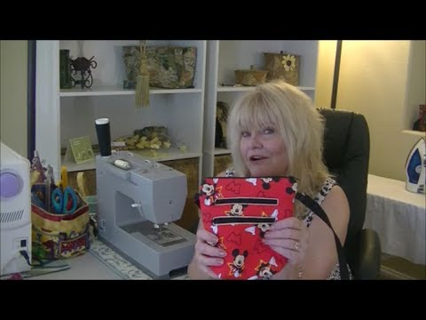 How to make a Cross body Phone Bag