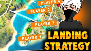 TOURNAMENT HIGHLIGHTS 🔥 🎯 [ HOW WE LAND AND RUSH ON ENEMY ]