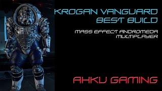 Best Krogan Vanguard Rage Build for Gold Multiplayer (Platinum eventually) - Mass Effect Andromeda