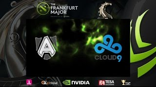 [ Dota2 ] Alliance vs Cloud9 - The Frankfurt Major 2015 : Main Event - ARF