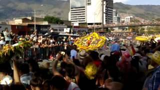 desfile de silleteros y sobrevuelo de kfir medellin 2014