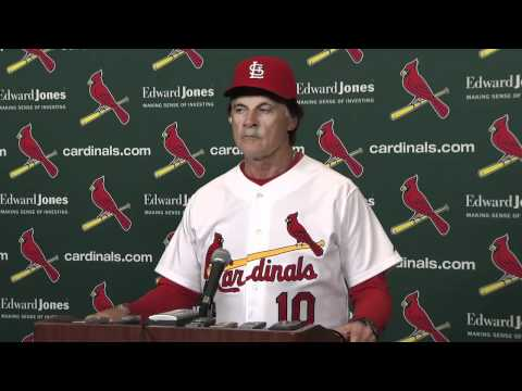 Tony LaRussa Walks Out on Reporters