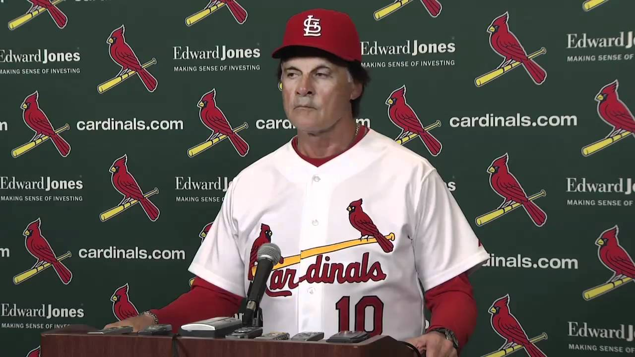 Tony Larussa Walks Out On Reporters Youtube