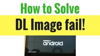 How to solve tool dl image fail