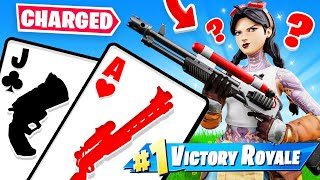 CHARGE SHOTGUN *NEW* 21 Card Game FOR LOOT (Fortnite)