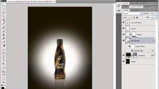 Criando efeito reflexo Fotoshop