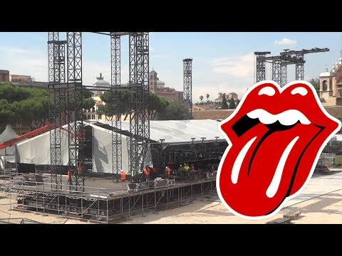 The Rolling Stones Concert In Rome Circus Maximus