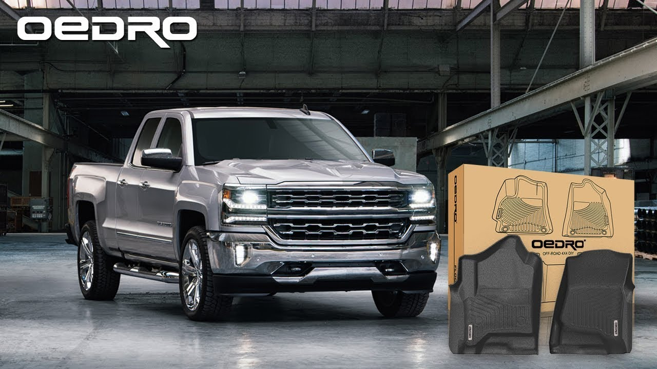 2014 2018 Silverado Floor Mats Double Cab Only Oedro Performance Series Youtube