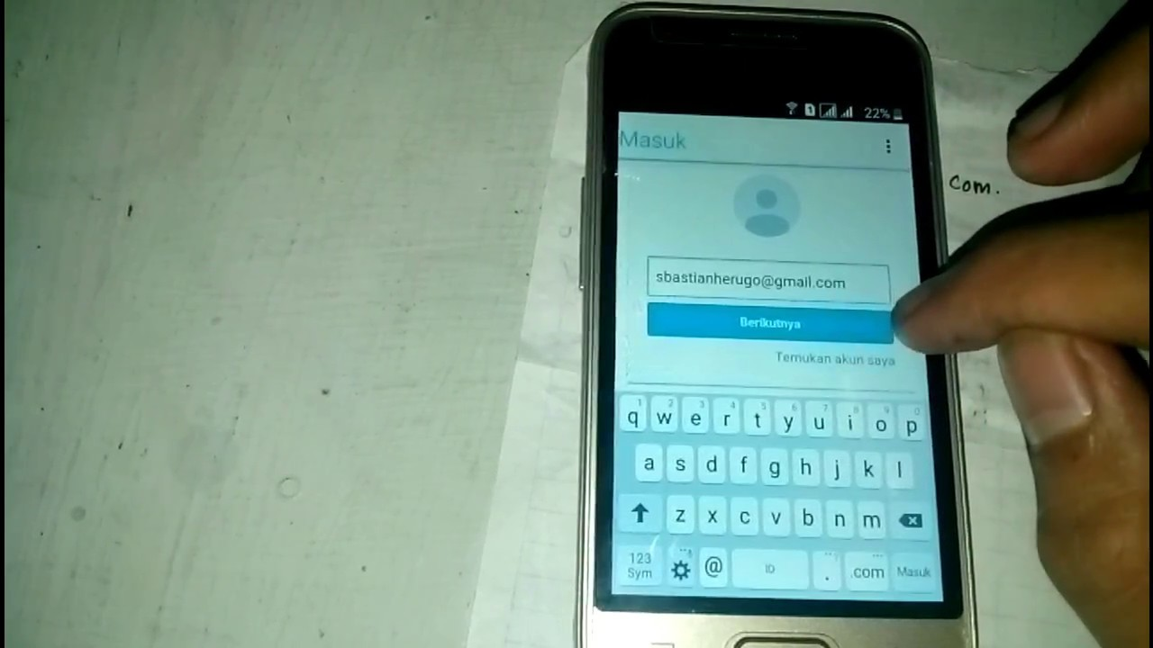 Samsung J1 Mini Verifikasi Akun Google No Otg No Pc 1000 Work