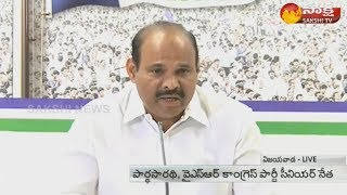 YSRCP Leader Parthasarathy Slams Chandrababu Over Cyclone Phethai