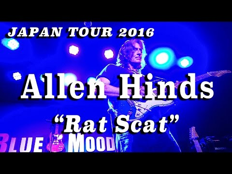 Allen Hinds - Rat Scat (Japan Tour 2016 Live at Blue Mood)