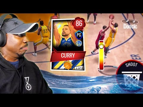 COMIC CURRY SHOOTING FADING 3-POINTERS! NBA Live Mobile 20 Season 4 Gameplay Ep. 17
