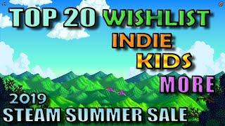 Top 20 Games Steam PC wishlist picks - Steam Summer Sale 2019