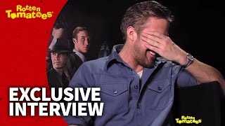 Ryan gosling gets embarrassed by a dish towel | rotten tomatoes