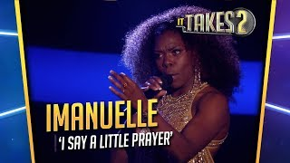 It Takes 2: Imanuelle Grives & Waylon zingen I Say A Little Prayer