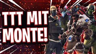 😂😈TTT mit Monte, Amar, Kamo, Steel, Repaz und Co.! | Fisch vs Fortnite Legenden!