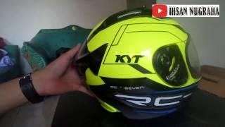 Unboxing Helm KYT RC SEVEN - Tasikmalaya #TwoVlog #Motovlog #Indonesia