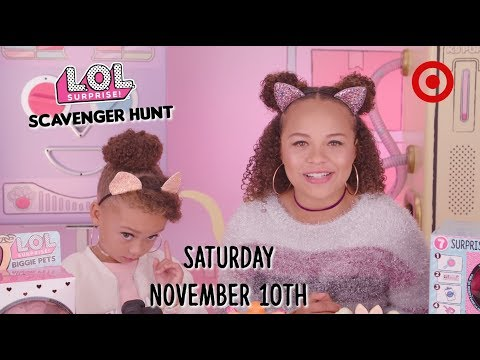 LOL Surprise! | Eye Spy Pets at Target 11/10 | Special Scavenger Hunt Event