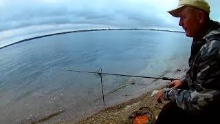 Рыбалка на водохранилище. Печенеги. Дуэль между фидером и дальняком/пружиной. Подлещик и плотва.
