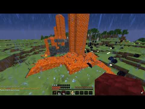 Finding Herobrine In Minecraft! (broken)