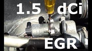Renault 1.5 dCi EGR clean