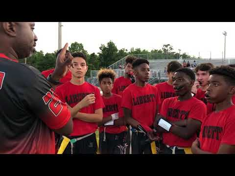 LMSFlag Football 2019 vs Greco Middle School