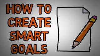 Setting Smart Goals   How To Properly Set A Goal (animated)