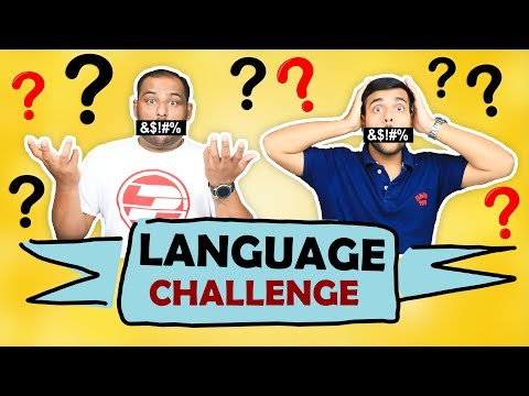 LANGUAGE CHALLENGE | Funny Challenge | Brother Vs Brother | Viwa Brothers
