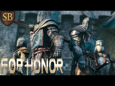 HOW I PLAY WARDEN ► For Honor Alpha (DUEL MODE) Multiplayer PC Gameplay