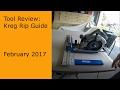 Kreg Rip Guide Part 1