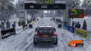 WRC 4: FIA World Rally Championship gameplay PC 1080p