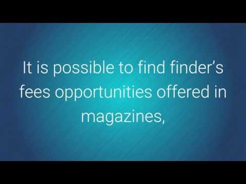 Make Your Fortune as a Professional Finder | Finders Fees
