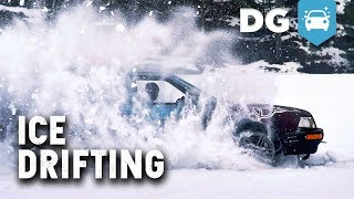 Ice Drifting The Quad Turbo LS Audi Quattro