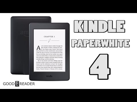 Amazon Kindle Paperwhite 4 Out Soon - YouTube