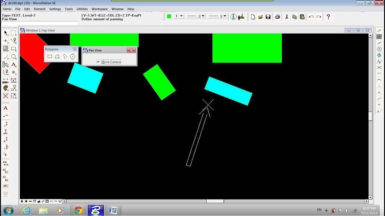 Video 5 Hướng dẫn sử dụng công cụ vẽ các đối tượng dạng vùng
