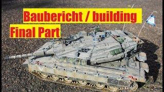 Merkava MK IV Hobby Boss 1/35 building/Baubericht Part.2