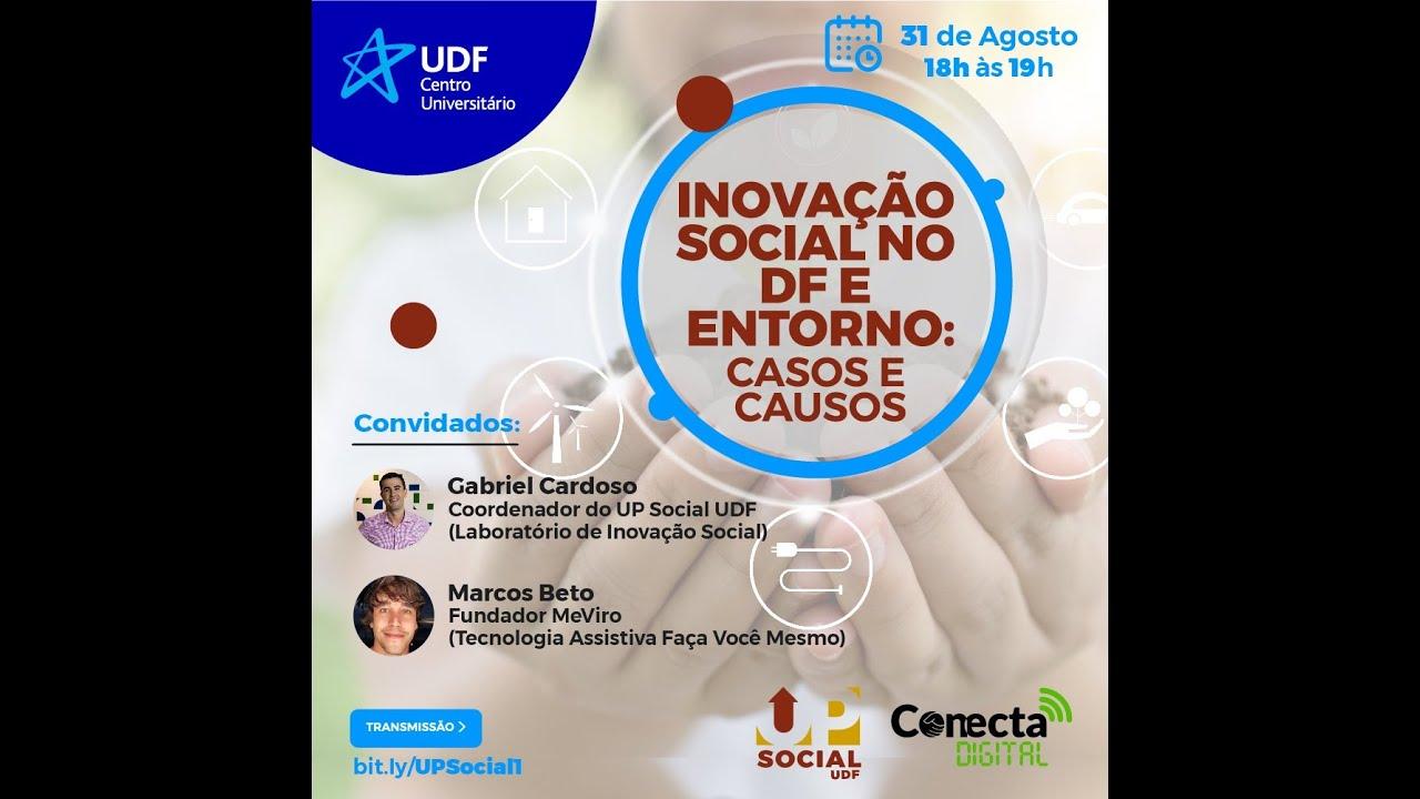 Inovação social no DF: casos e causos (webinar)
