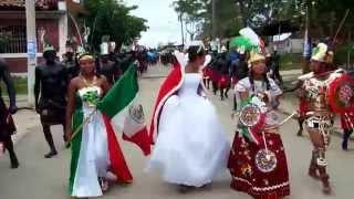 El Polvorín, Marquelia. Danza de los apaches 2014. [HD VIDEO]